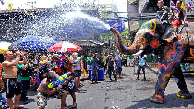 泰國潑水節地點 泰國潑水節主要戰區 泰國潑水節2014 潑水節2014 泰國潑水節
