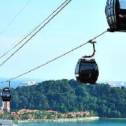 新加坡聖淘沙雙程纜車+餐飲套票