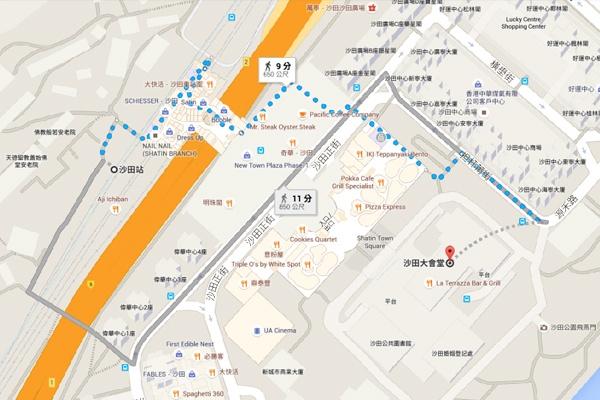 第四十屆香港國際電影節放映地圖 Hopetrip旅遊網