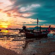 蘇梅島紅男爵號復古紅帆船浪漫日落之旅