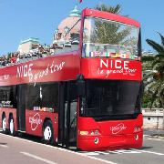 法國尼斯Le Grand Tour隨上隨下雙層觀光巴士