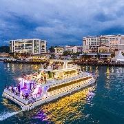 沙巴藍海之星遊船夜間巡航North Borneo Cruises(含自助晚餐)