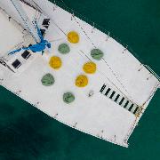 布吉蛋島棒棒糖號雙體帆船親子半日遊