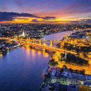 2019水燈節曼谷湄南河遊船活動+自助晚餐