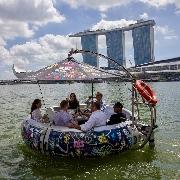 新加坡Floating Donut漂浮冬甩船30分鐘體驗